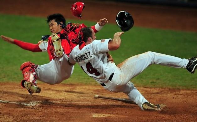 Baseball injuries can be bad