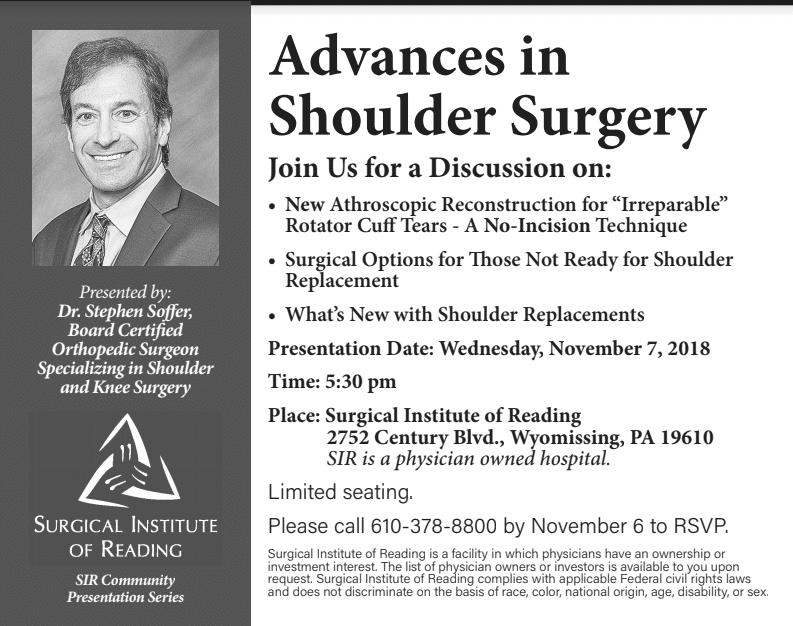 shoulder surgery lecture